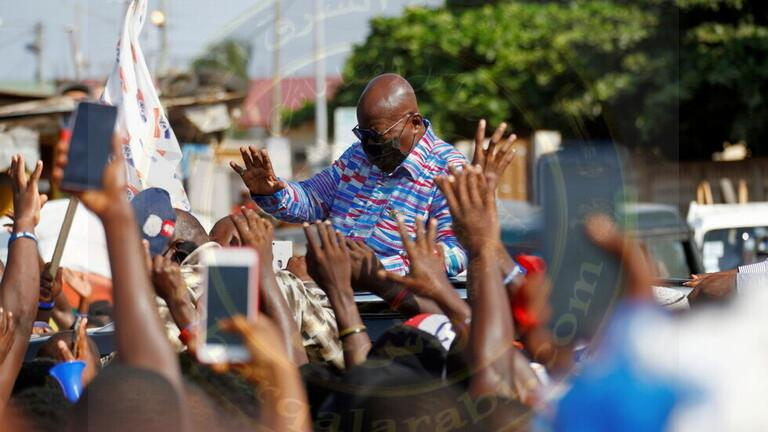 رئيس غانا نانا أكوفو إدو تجميد زيادة راتبه السنوية لعام 2021