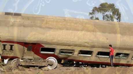 وقوع إصابات جراء اصطدام جرار بقطار الاسكندريه القاهرة من الخلف