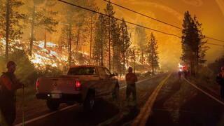 توجيه تهم جنائية لزوجين تسببا بحرائق كاليفورنيا