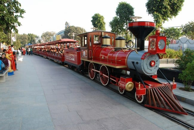 Kankaria toy train