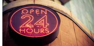 21 hour cafe