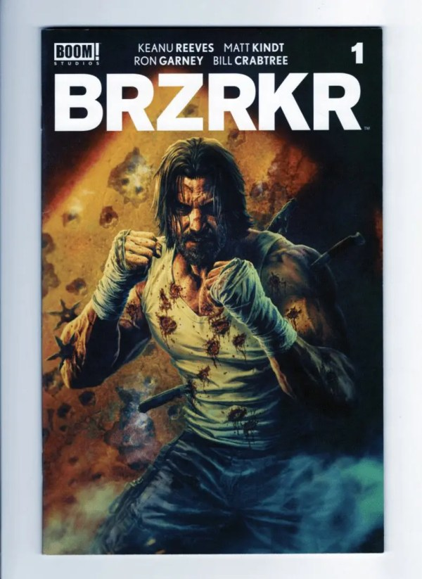 Brzrkr 1 (Cover G)—Front Cover