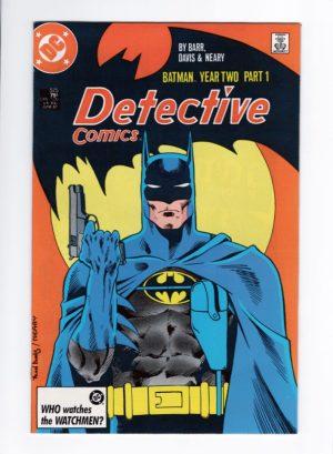 Detective Comics 575—Front Cover