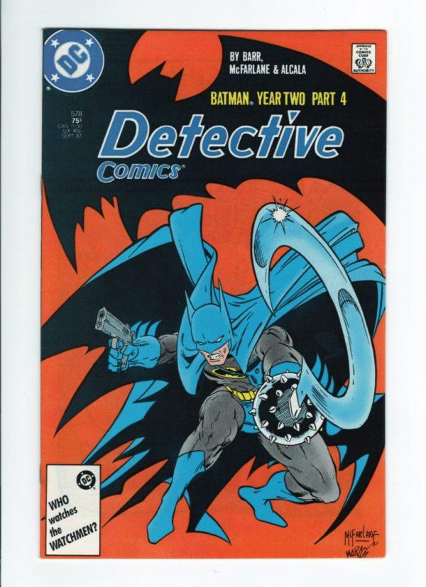 Detective Comics 578—front