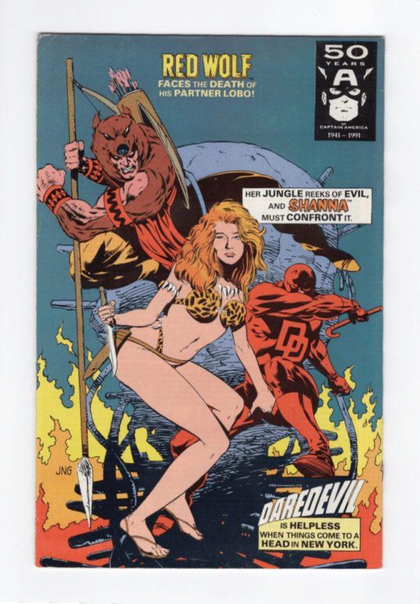 Marvel Comics Presents 72—Back Cover