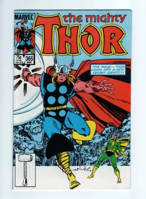 The Mighty Thor 365—Front Cover