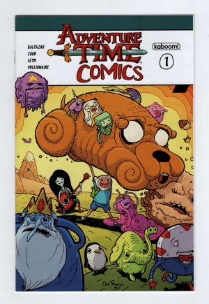 Adventure Time Comics 1—Front Cover