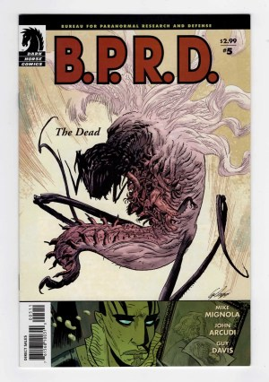 B.P.R.D. 5—Front Cover