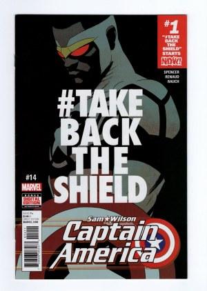 Captain America: Sam Wilson 14—Front Cover