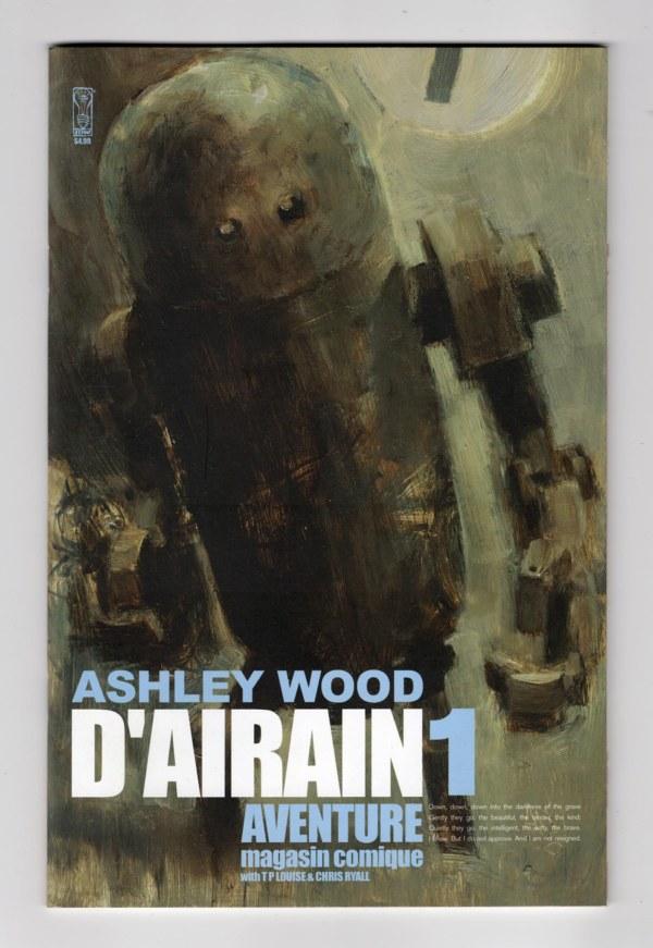 D'Airain Aventure 1—Front Cover