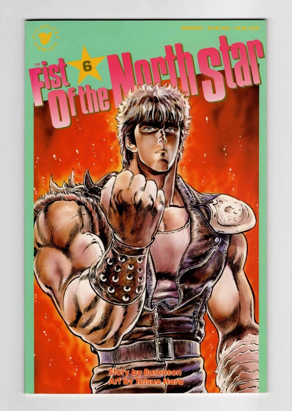 Fist of the North Star 6–Front Cover