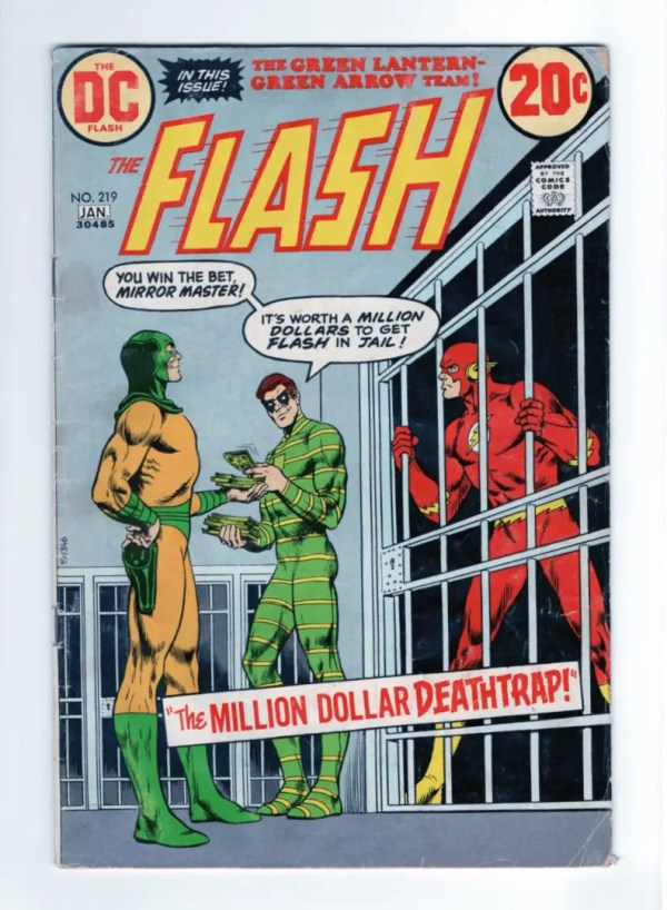 The Flash 219—Front Cover