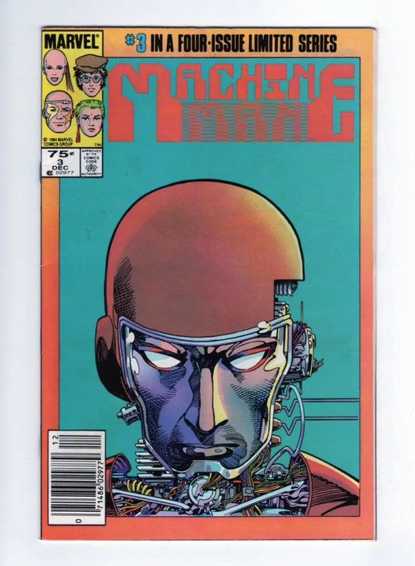Machine Man 3—Front Cover