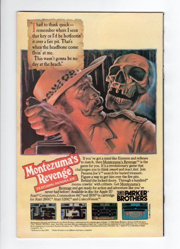 Machine Man 4—Back Cover