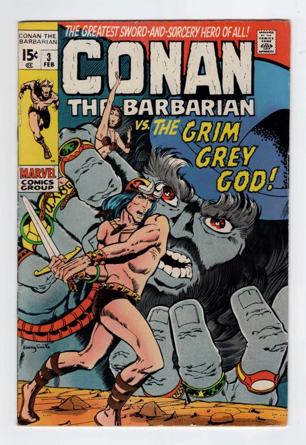 Conan the Barbarian 3—Front Cover