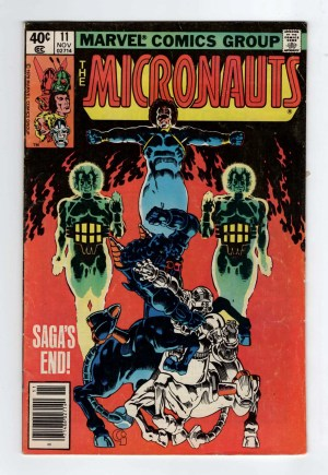 Micronauts 11—Front Cover
