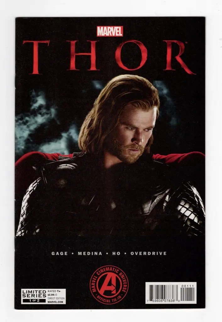 Thor Movie Adaptation 1—Front Cover