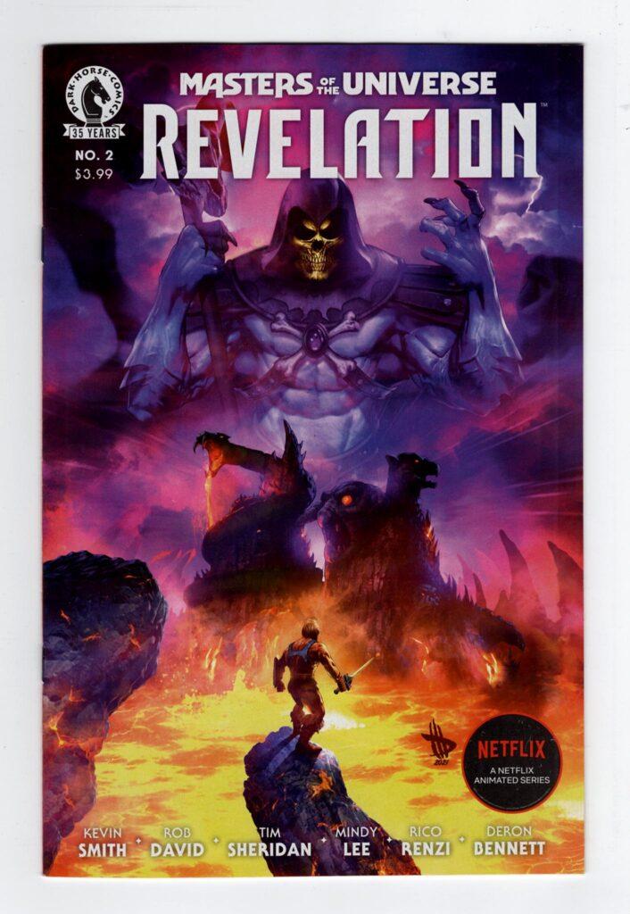 Masters of the Universe Revelation 2a—Front Cover | Motu Revelation | He-man Netflix