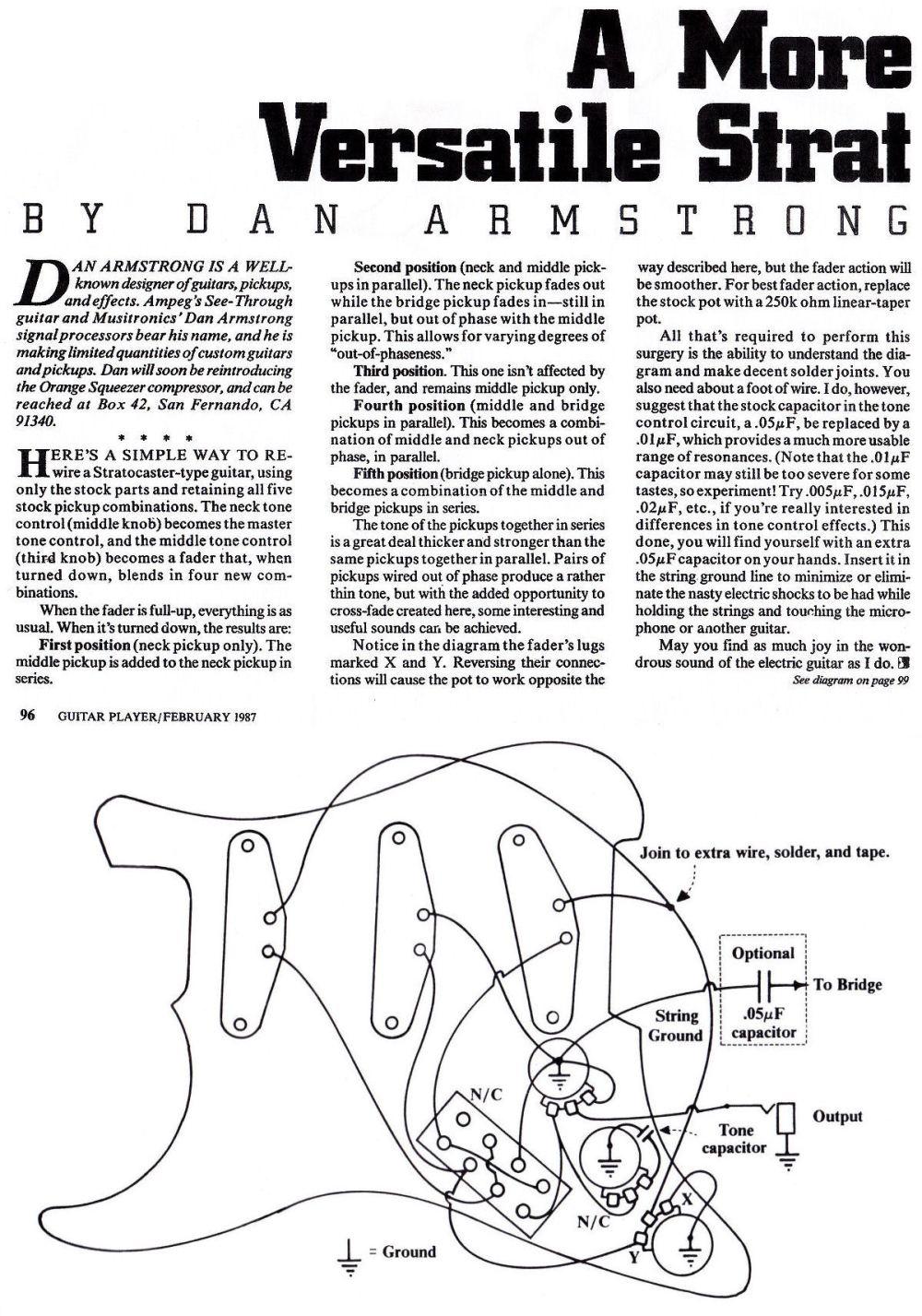 medium resolution of dan armstrong strat wiring