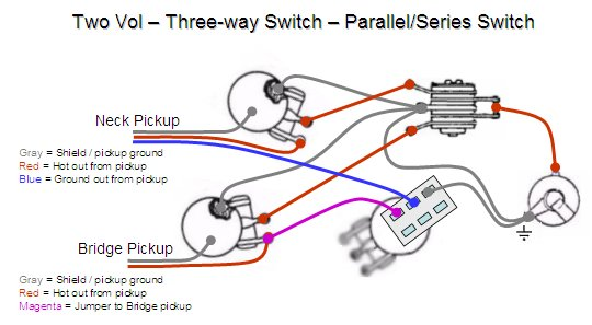 3 Way Guitar Switch Wiring Diagram Using Switches For Guitar Mods