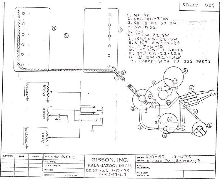 Gibson Pickups Wiring Diagram Gibson Pickup Wiring Diagram