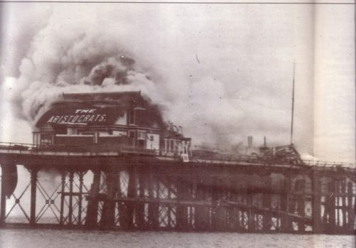 Fire on Paignton Pier Paignton History