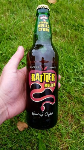 Mulled rattler Healey's Cider Farm, Newquay Cornwall