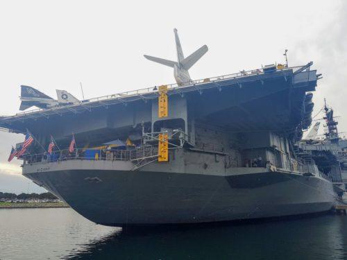 USS Midway, San Diego, USA, Standard