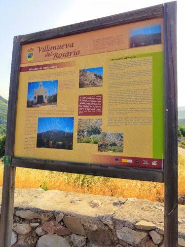 Hondonero Viewpoint Villanueva del Rosario, Spain