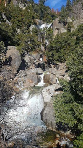 Cascades Waterfall Yosemite Valley