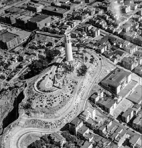 Coit Tower Memorial Tower 1933, San Francisco