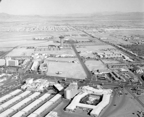 Las Vegas Strip in 1968