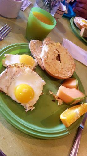 Green Turtle Hostel Breakfast San Francisco