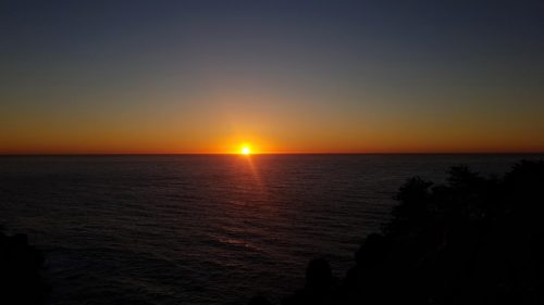 Sunset at McWay Falls Big Sur