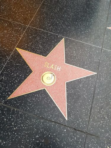 Slash Walk of Fame, Hollywood Los Angeles