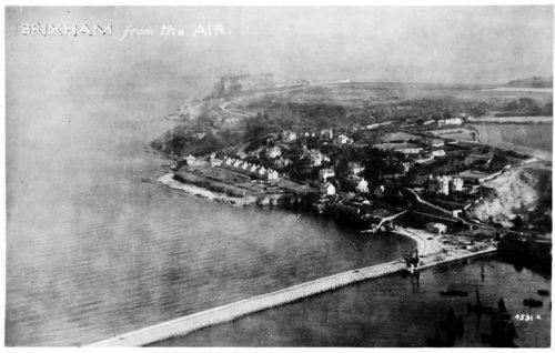 Brixham Breakwater Beach 1920s - History