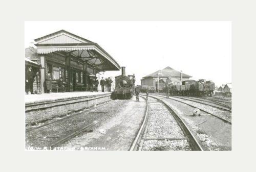 Brixham railway station - History Credit: Lincoln Shaw