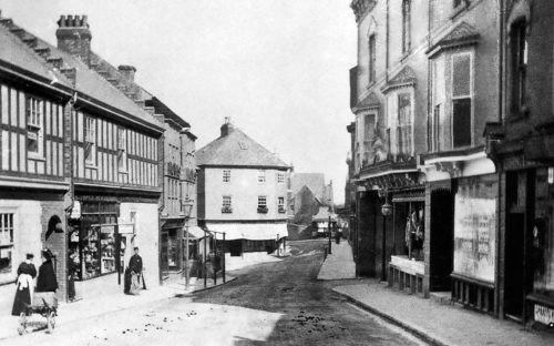 Church Street looking down towards the church Paignton History