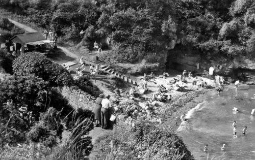 Fishcombe Beach 1950s Brixham History
