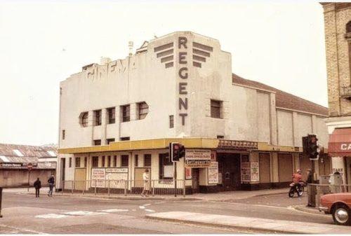 First cinema in Devon Paignton History