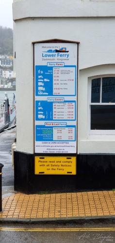 Dartmouth Lower Ferry 2020