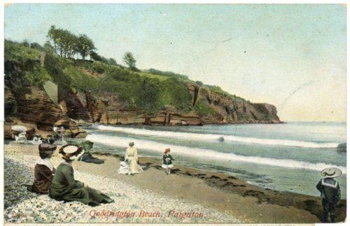 Goodrington Beach, Paignton History