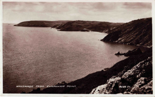 Mansands From Sharkham Mansands Brixham, History