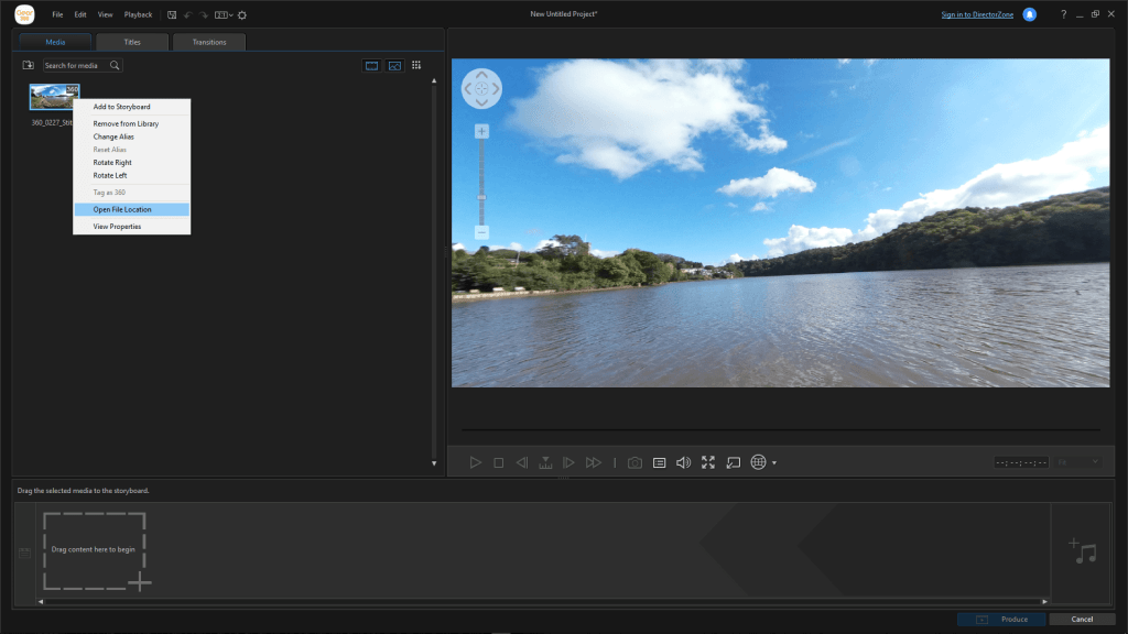 App Director 5 1024x576 - How To Stitch 360 Photos With Samsung's Desktop Action Director