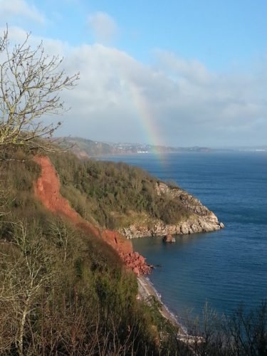 Rainbow Oddicombe Beach, Babbacombe Downs, Torquay