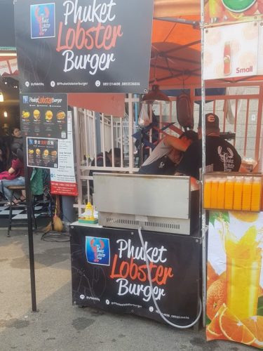 Lobster Burgers Chatuchak Market, Bangkok, Thailand
