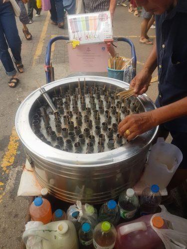 Ice Sticks Chatuchak Market, Bangkok, Thailand
