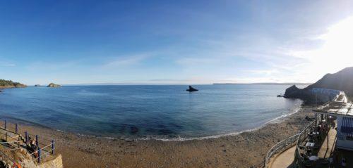 Meadfoot Beach 13 500x239 - Meadfoot Beach in 360º