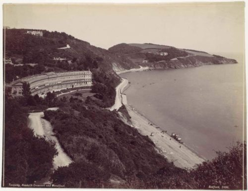 Meadfoot Beach, Torquay, History