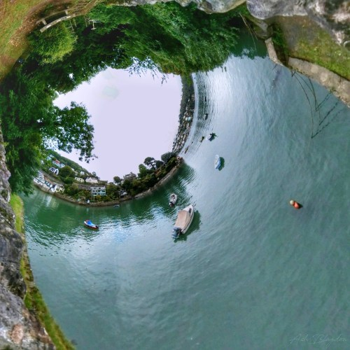 Warfleet Creek, Dartmouth Inverted Planet